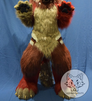 Fullbody Digitigrade Image
